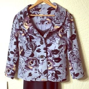 Anthropology Odille jacket sz 10